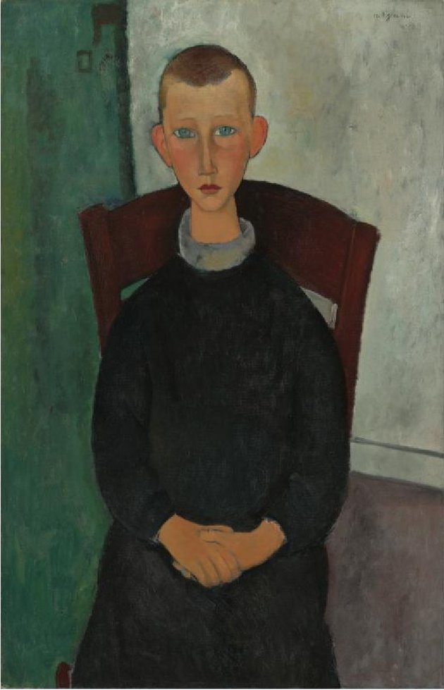Amedeo Modigliani, Le Fils du Concierge (98); © Sotheby's New York