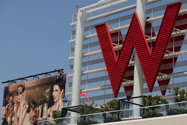 The W Hotel Hollywood; Foto: AP