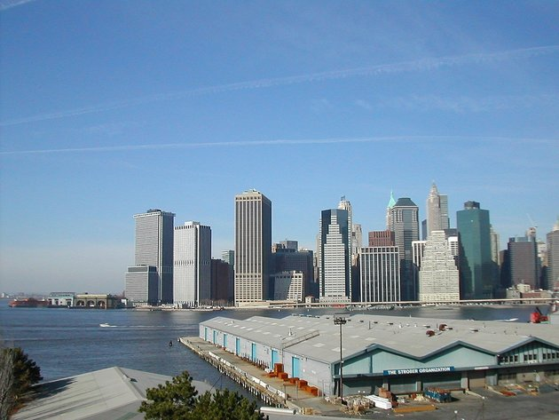 The Brooklyn Heights Piers, seen from Brooklyn Promenade; © Richard Scholz / CC BY-SA 3.0