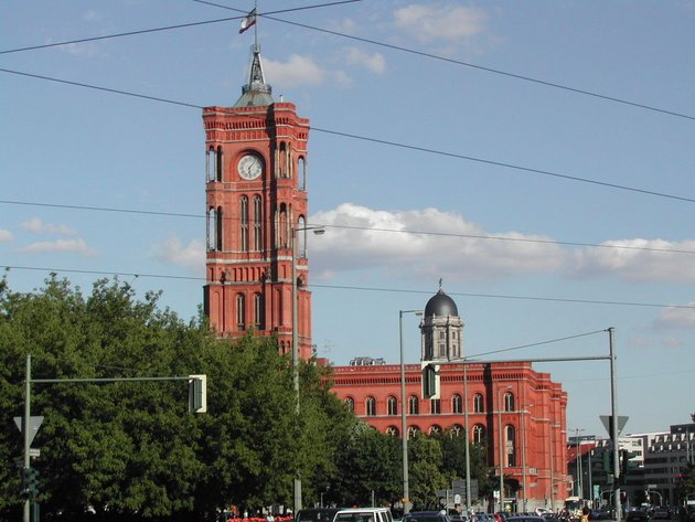 Rotes Rathaus in Berlin; © Alexandra / Wikimedia Commons CC BY-SA 3.0