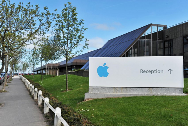 Apple-Gebäude in Südirland; Foto: Reuters
